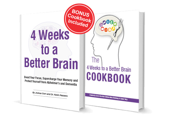 4 Weeks to a Better Brain / BONUS Cookbook Included / The 4 Weeks to a Better Brain Cookbook
