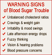 WARNING Of Blood Sugar Trouble