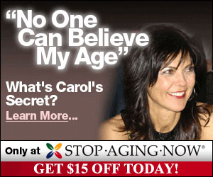 Stop Aging Now. Natural Solutions for a Longer, Healthier Life.