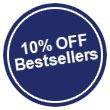 Bestsellers 10% OFF!